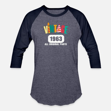 Original Vintage 1963 All Original Parts - Baseball T-Shirt