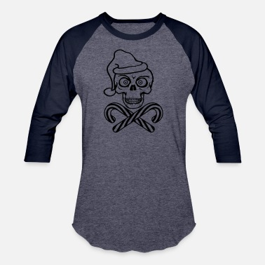 Evil bones candy bone christmas cool dead eat hunger - Baseball T-Shirt