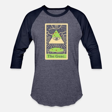 Tarot THE GUAC TAROT - Unisex Baseball T-Shirt