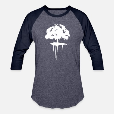 Oak Tree Oak tree - Unisex Baseball T-Shirt