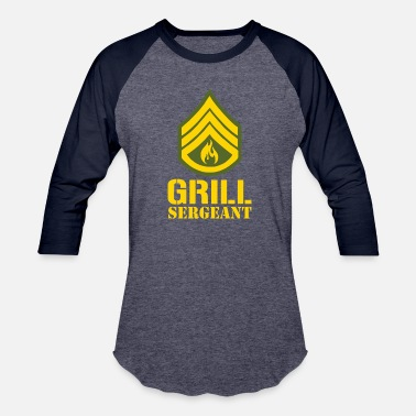 Sergeant Military Grill Sergeant Military - Baseball T-Shirt