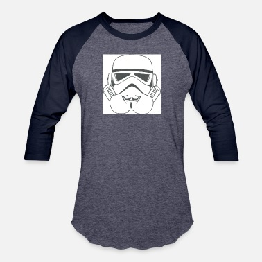 Stormtrooper Starwars anonymous stormtrooper - Unisex Baseball T-Shirt