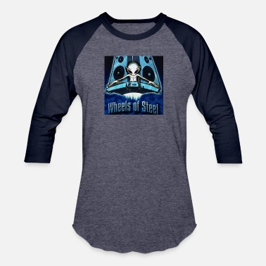 Dj DJ GEE - Wheels Of Steel Space Aliens - KIds - Baseball T-Shirt