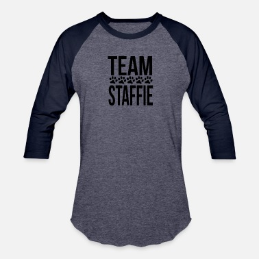 Staffie Owner Team Staffie - Baseball T-Shirt
