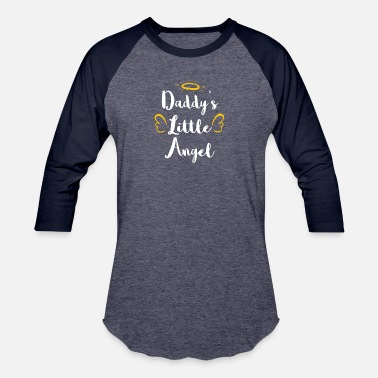 Daddys Angel DADDYS LITTLE ANGEL - Baseball T-Shirt
