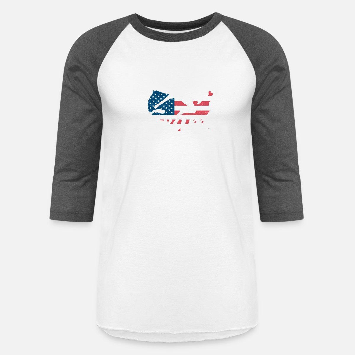a388f1608 Team USA Soccer Unisex Baseball T-Shirt