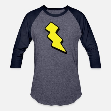 Electricity Bolt bolt - Baseball T-Shirt