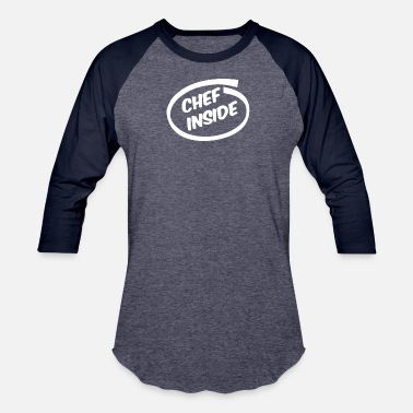 New Chef CHEF COOK funny NEW - Baseball T-Shirt