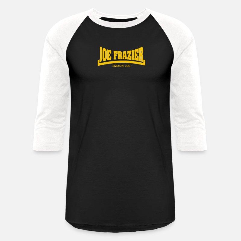b009b3ea4da1 oe Frazier Smokin Joe Unisex Baseball T-Shirt | Spreadshirt