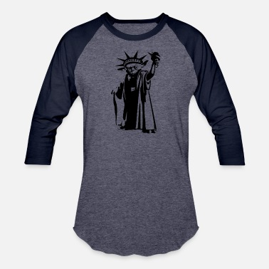 Joda Joda statue of liberty - Baseball T-Shirt