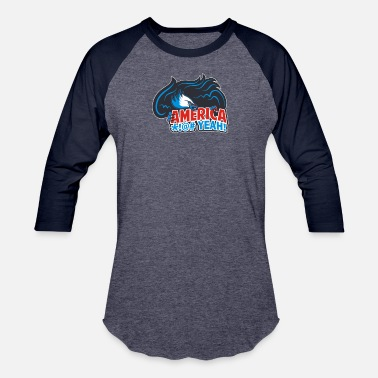 Team America - Unisex Baseball T-Shirt