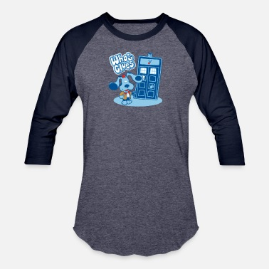Blues Clues Whos Clues - Unisex Baseball T-Shirt