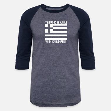 f9c13c679 Greek Hellas Pride Funny - Unisex Baseball T-Shirt