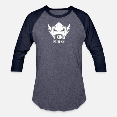 Original Viking Power funny tshirt - Baseball T-Shirt