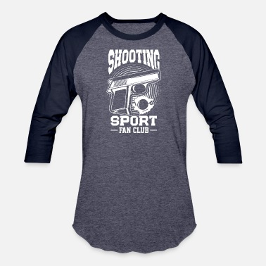 Shooting Club Shooting Sport Fan club - Unisex Baseball T-Shirt