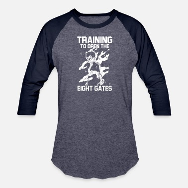 New Design training to open the eight gates - Unisex Baseball T-Shirt