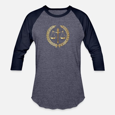 Justice Authority justice - Baseball T-Shirt