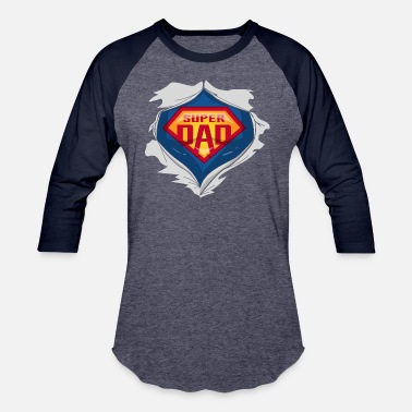 Super Dad super dad - Baseball T-Shirt