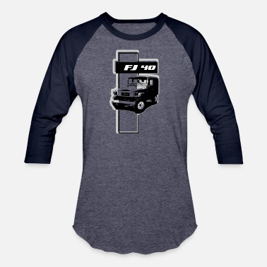 Toyota FJ 40 ABSTRACT - Baseball T-Shirt