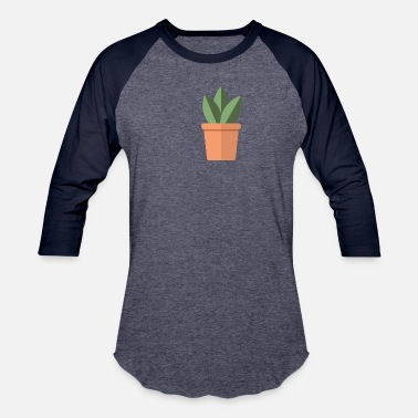 Little Palm Island Islands Cute Pot Plant - Baseball T-Shirt