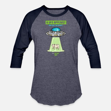 Paradox The Ufo Paradox - Baseball T-Shirt