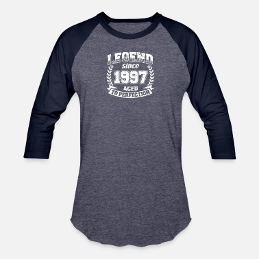 Legend Since 1997 Vintage Legend Since 1997 Aged To Perfection Shirt - Baseball T-Shirt