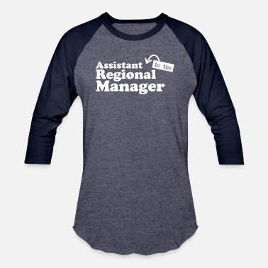 Region Assistant to the Regional Manager - Baseball T-Shirt