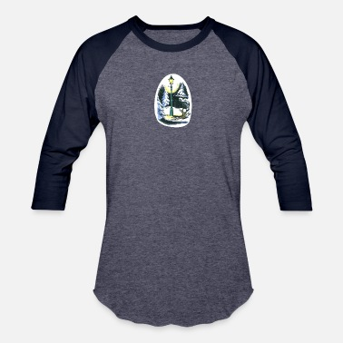 Lewis Narnian Lamp-post - Baseball T-Shirt