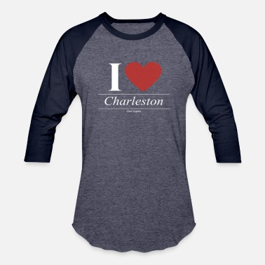 Charleston Wv Charleston West Virginia WV West Virginian - Baseball T-Shirt
