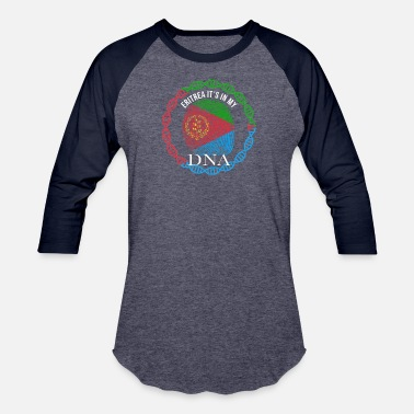 Eritrea Pride Eritrea Its In My DNA - Unisex Baseball T-Shirt