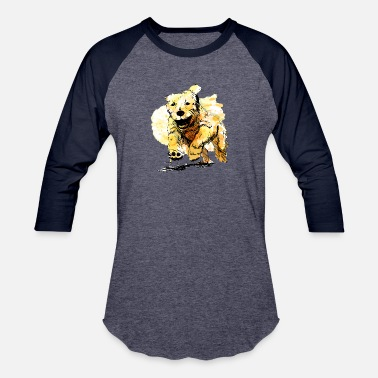Hilla oil dog - Baseball T-Shirt