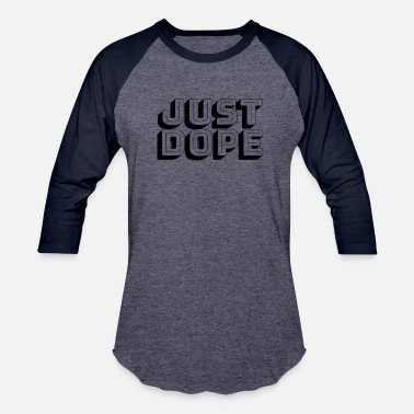 Simple Dope just dope-black - Baseball T-Shirt