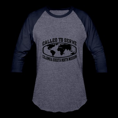 Colombia Bogota North Mission - LDS Mission CTSW - Baseball T-Shirt