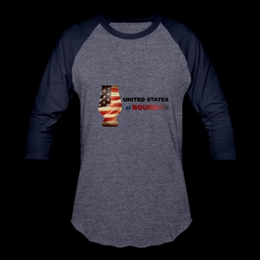 United States of Bourbon Deluxe - Baseball T-Shirt