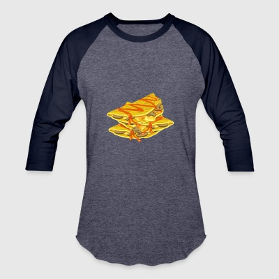 quesadilla tortilla nachos mexican food10 - Baseball T-Shirt