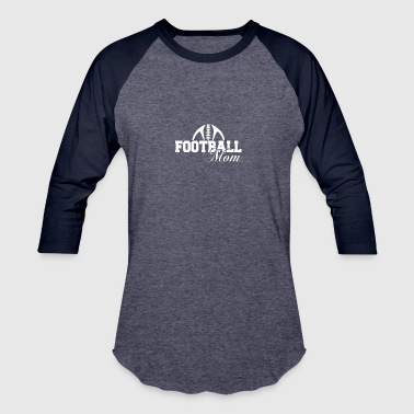 Spirit Football Mom - Baseball T-Shirt