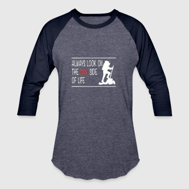 your life is a hike - Baseball T-Shirt