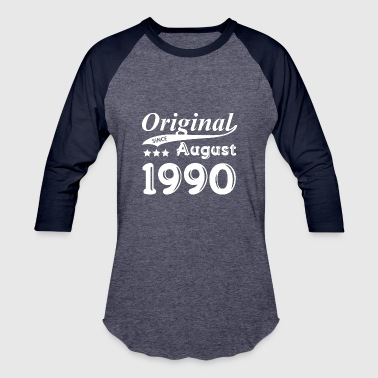 Original Since August 1990 Gift - Baseball T-Shirt