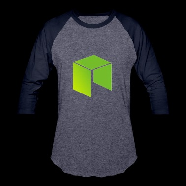 Neo Cryptocurrency logo - Baseball T-Shirt