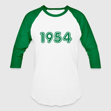 1954, Numbers, Year, Year Of Birth - Baseball T-Shirt