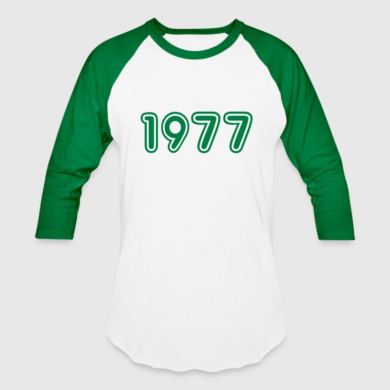 1977, Numbers, Year, Year Of Birth - Baseball T-Shirt