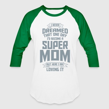 super mom - super mami - Baseball T-Shirt