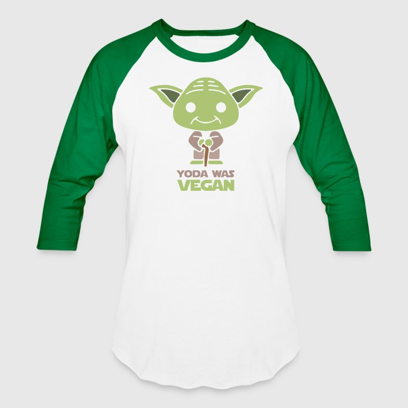 Yoda Was Vegan - Baseball T-Shirt