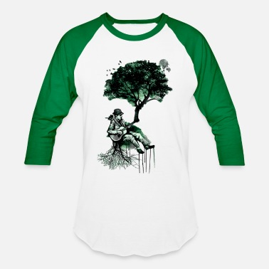 Nature Collection Violão e natureza - Baseball T-Shirt