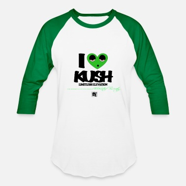 Kush I Love Kush - Baseball T-Shirt