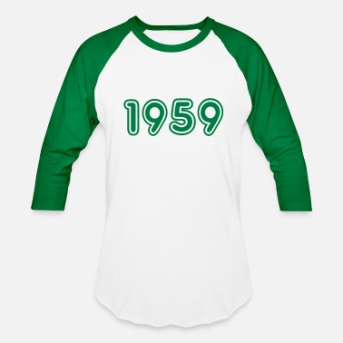 Birth 1959, Numbers, Year, Year Of Birth - Baseball T-Shirt