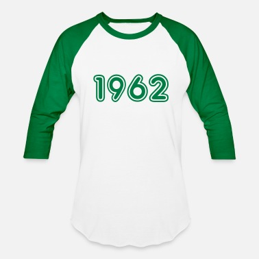 1962 Birth Year 1962, Numbers, Year, Year Of Birth - Baseball T-Shirt