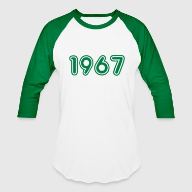 1967, Numbers, Year, Year Of Birth - Baseball T-Shirt