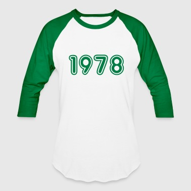 1978, Numbers, Year, Year Of Birth - Baseball T-Shirt