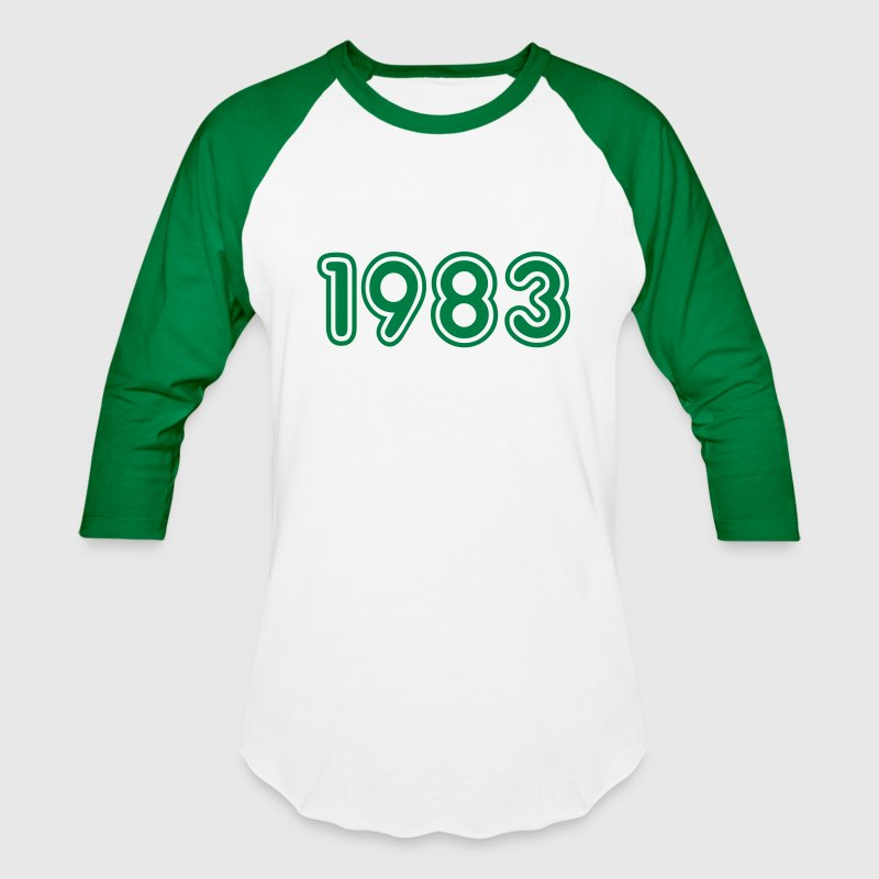 1983, Numbers, Year, Year Of Birth - Baseball T-Shirt